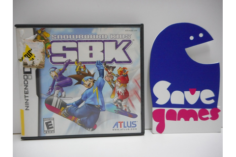 SBK Snowboard Kids - Save Games
