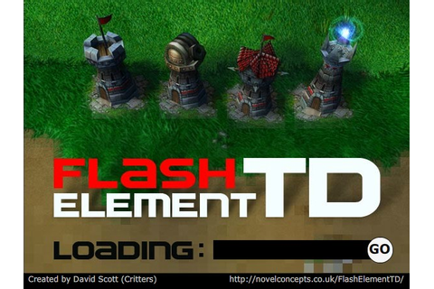 Flash Element TD Hacked (Cheats) - Hacked Free Games