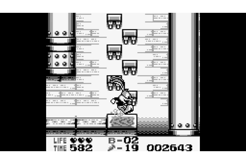 Tiny Toon Adventures 2: Montana's Movie Madness Game Boy ...
