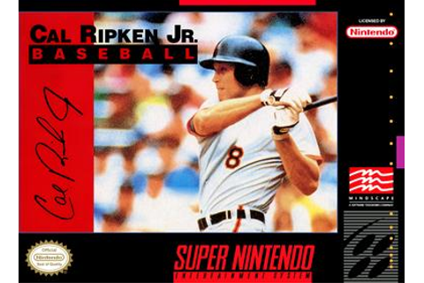 Cal Ripken Jr. Baseball Details - LaunchBox Games Database