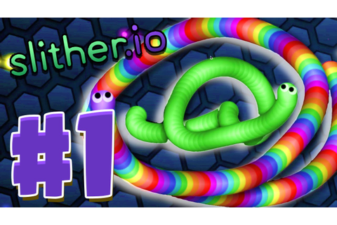 BEST SLITHER.IO FIRST GAME EVER! - Most Addictive Game ...