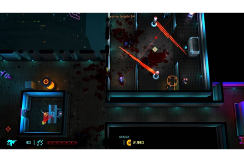 Neon Chrome Review (PC) – GameSpew