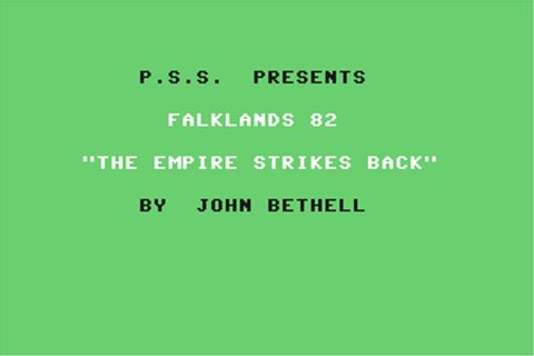 Download Falklands 82 (Commodore 64) - My Abandonware
