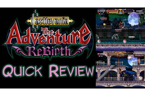 Castlevania: The Adventure ReBirth (Wii) - Review - YouTube
