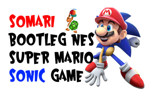 Somari - Bootleg NES Super Mario/Sonic Game - YouTube