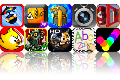 iOS Apps Gone Free: Parachute Ninja, Curlington HD ...