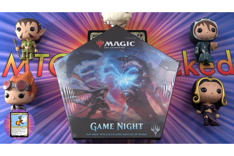 Magic: The Gathering - Game Night Unboxing - YouTube