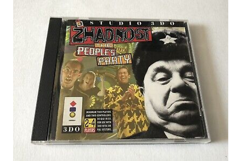 Zhadnost: The People's Party (Panasonic 3DO) | eBay