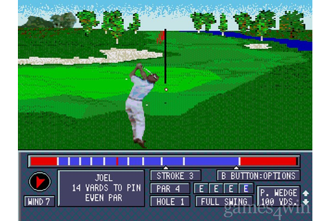 Jack Nicklaus Power Challenge Golf Download on Games4Win