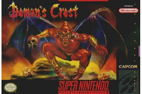 Demon's Crest SNES Super Nintendo