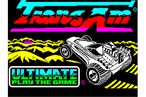 Revive These Racing Games: #2 Tranz Am