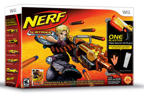 Nerf N-Strike Game Review for the Wii - Blast Off ...