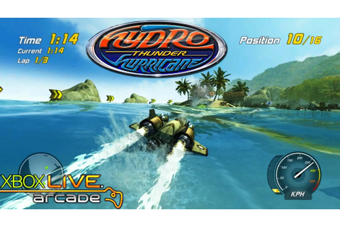 Hydro Thunder Hurricane - Xbox 360 / XBLA Gameplay (2010 ...