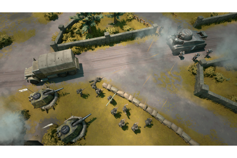 Foxhole Is A Top-down Persistent Online War Game, Out Now ...
