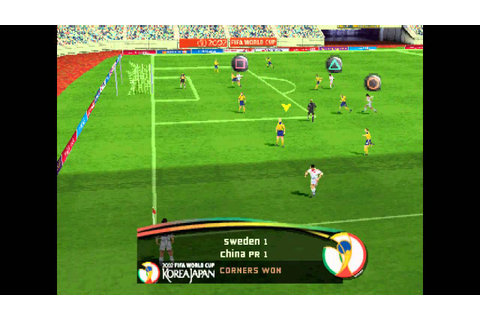 FIFA World Cup 2002 - Korea Japan ... (PS1) 60fps - YouTube