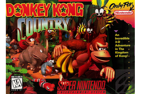 Video Game Log and History: Donkey Kong Country (November ...