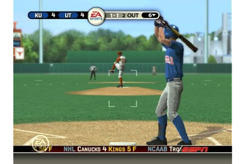 MVP 06 NCAA Baseball - PS2 - Review