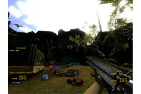 First person shooter - Dinohunters