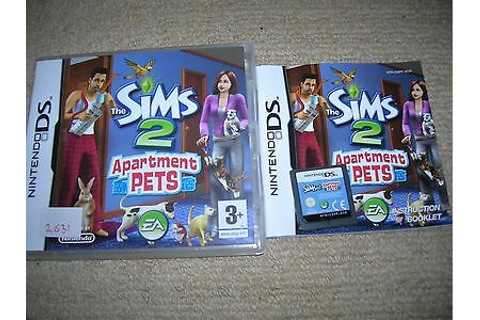 Nintendo Ds Games The Sims 2 Apartment Pets And Sight ...