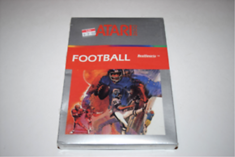 RealSports Football Atari 2600 Video Game New in Box | eBay