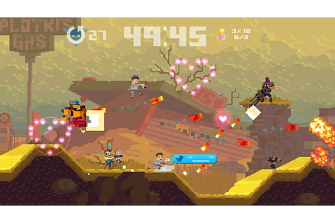 Super Time Force Ultra: Journey & The Order Characters ...