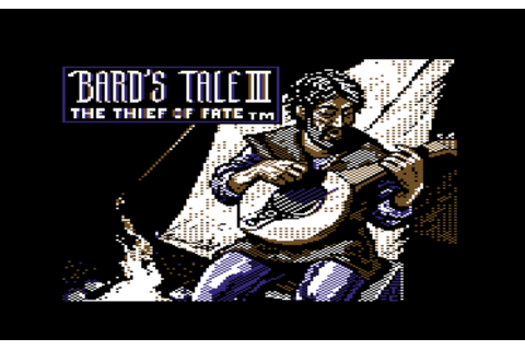 The Bard's Tale III: Thief of Fate | Play DOS games online