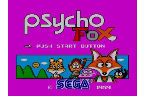 Psycho Fox, Master System - YouTube