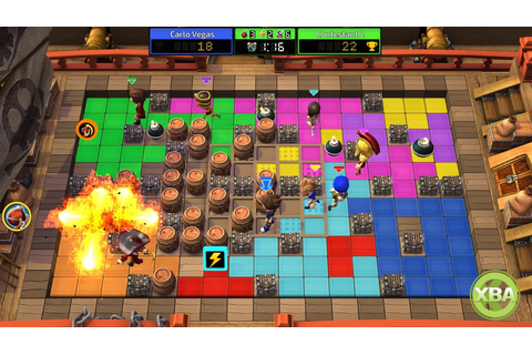 Blast Zone! Tournament is a Bomberman Style Game Coming in ...