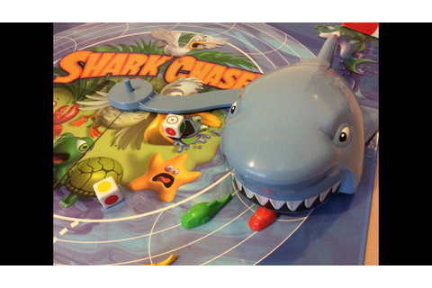 Shark Chase! Game by Hasbro Don't let the SHARK eat your ...
