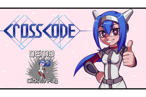 Crosscode - Indie game - Demo - YouTube
