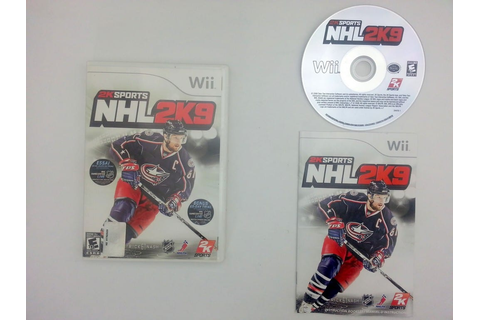 NHL 2K9 game for Nintendo Wii -Complete - TheGameGuy.ca