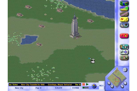 Simcity 3000 Game - Free Download Full Version For PC