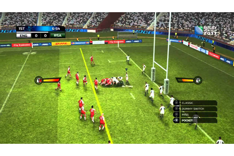 Rugby World Cup 2011 Game Demo Review (HD) England vs ...