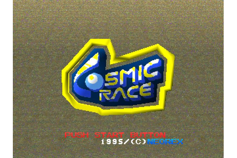 Cosmic Race (1995) PS game