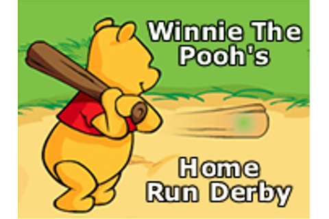 Winnie The Pooh's Home Run Derby - Play Online Games
