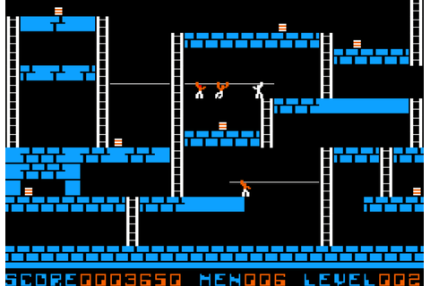 Lode Runner Web Game