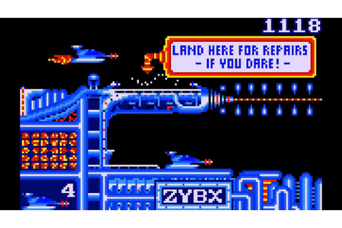 GATES OF ZENDOCON - Atari Lynx (1989) - YouTube