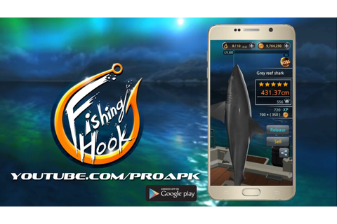 Fishing Hook Gameplay IOS / Android - YouTube