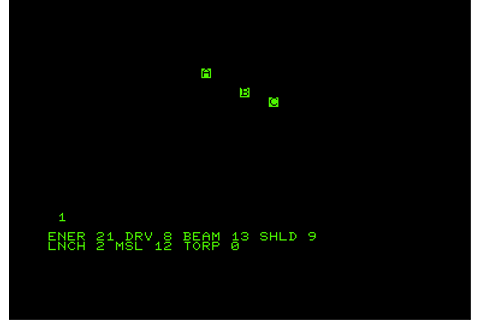 Invasion Orion Screenshots for Commodore PET/CBM - MobyGames