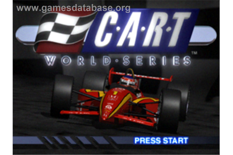 CART World Series - Sony Playstation - Games Database