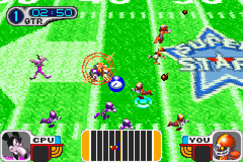 Disney Sports: Football (2002) by Konami GBA game
