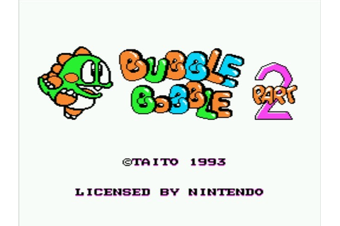 Lukie Games: Bubble Bobble Part 2 (NES)