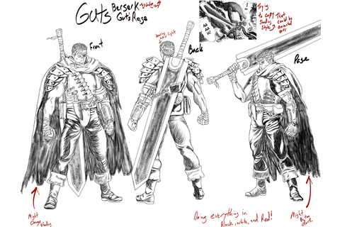 Sword of the Berserk- Gut's Rage Character Sheet by ...