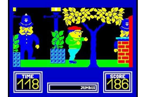 Benny Hill's Madcap Chase Walkthrough, ZX Spectrum - YouTube
