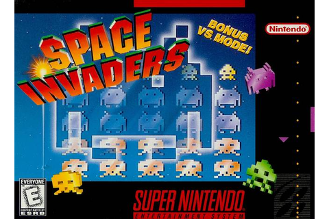 Space Invaders SNES Super Nintendo