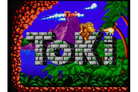 Toki arcade game M.A.M.E - YouTube