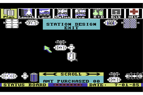 Project: Space Station Screenshots for Commodore 64 ...