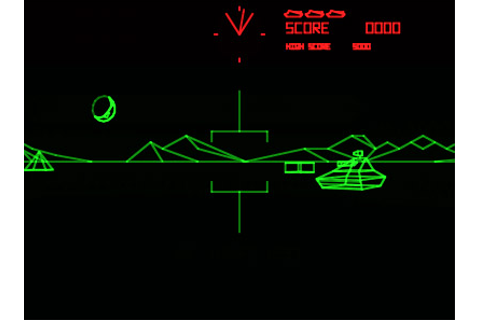 Battlezone Arcade retro review and gameplay video ...