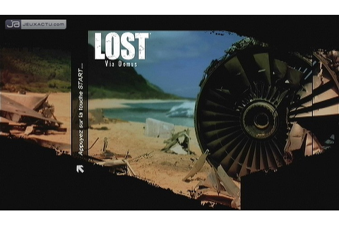 Test Lost : Les Disparus sur X360