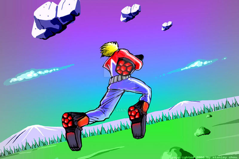 Space Harrier by ryuzo on DeviantArt